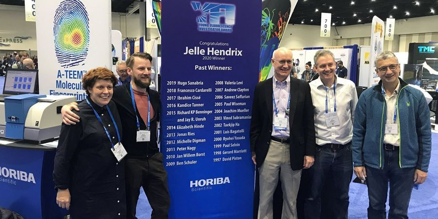 HORIBA Scientific Presents Young Fluorescence Investigator Award at Biophysical Show