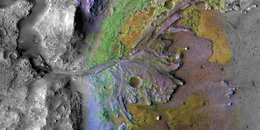 Promising Signs of Past Martian Life at Jezero Crater