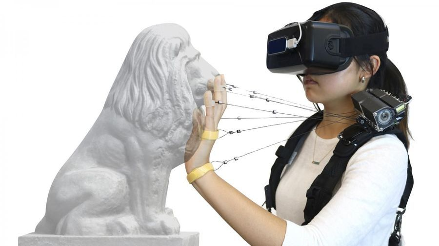 New Device Simulates Feel of Walls, Solid Objects in VR