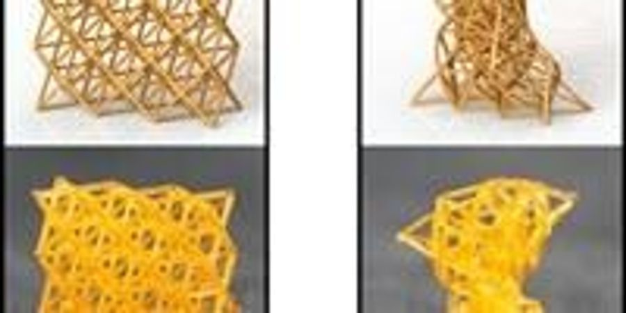 4D-Printed Materials Can Be Stiff as Wood or Soft as Sponge