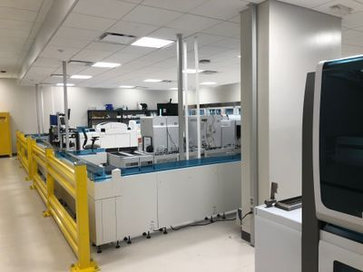 Planning Approach for Diagnostic Laboratories