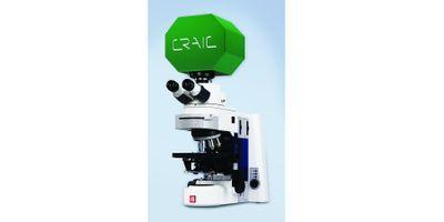 UV-Visible-NIR Polarization Spectroscopy of Microscopic Samples