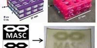 Light Provides Control for 3D Printing with Multiple Materials