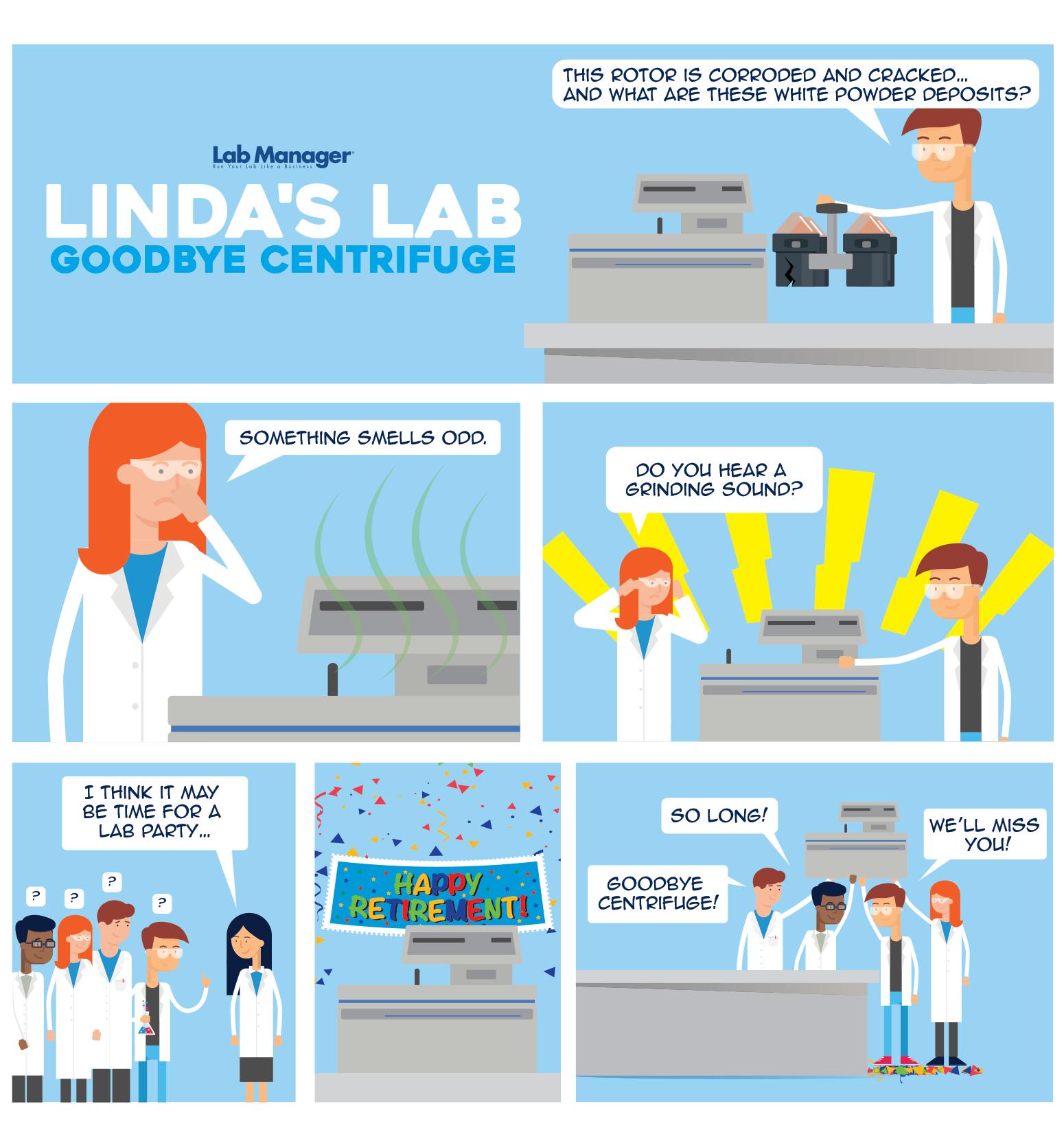 Linda's Lab - Goodbye Centrifuge