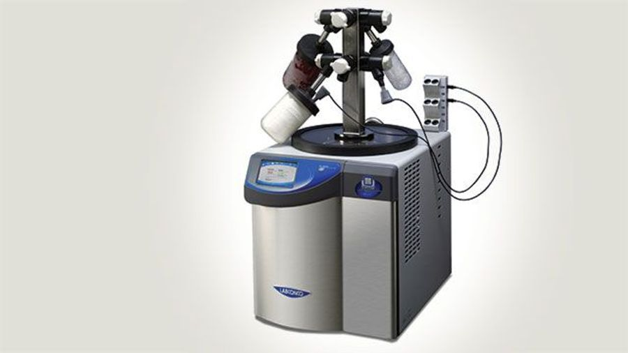 Determining End Point During Laboratory Freeze Drying