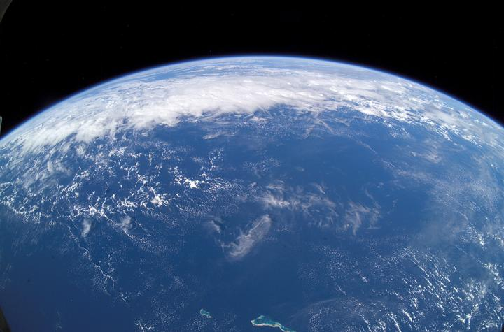 Pacific Ocean from ISS