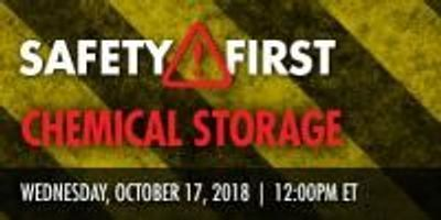 Effective Chemical Management and Storage