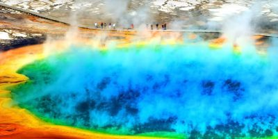 Yellowstone's Steaming Acid Pools of Death