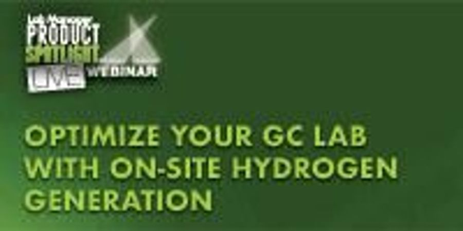Optimize Your GC Lab with On-Site Hydrogen Generation