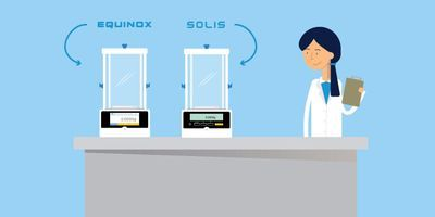 Adam Equipment: Equinox and Solis Balances