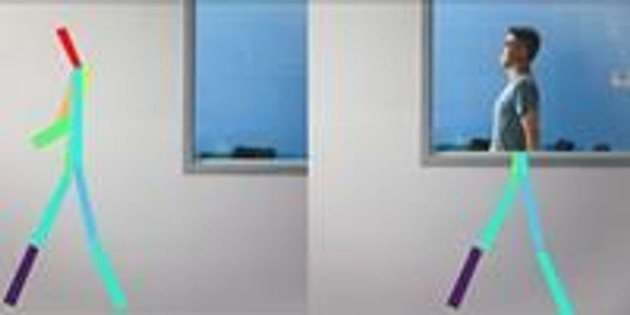 Artificial Intelligence Senses People through Walls
