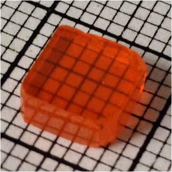Single crystal wafer of cesium lead bromide