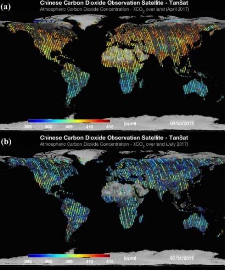 Global XCO2 Maps