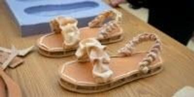 Mushrooms, Feathers Combine in Biodegradable Shoes