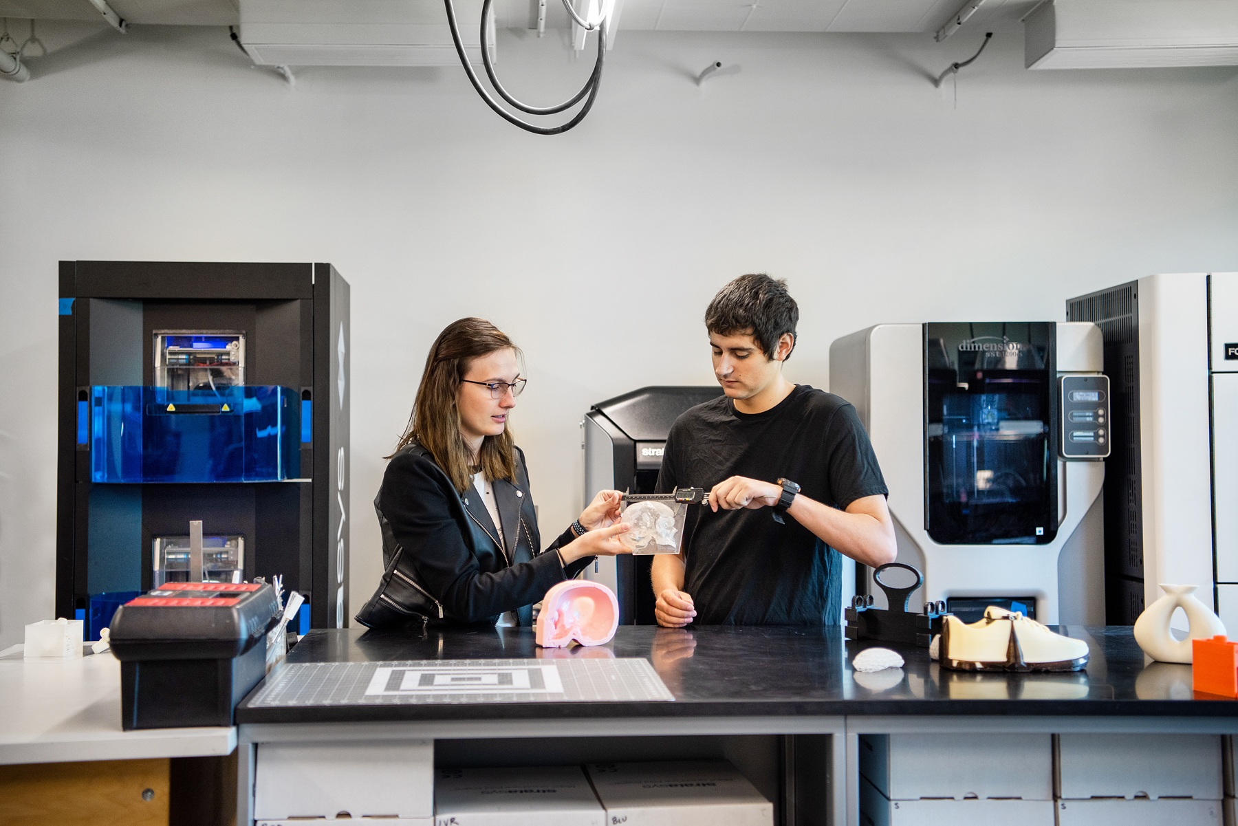 SUNY New Paltz 3D printing