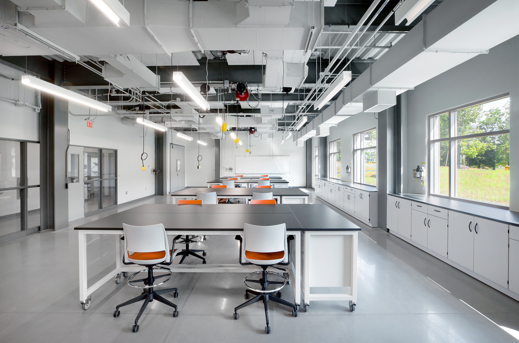 SUNY New Paltz teaching lab