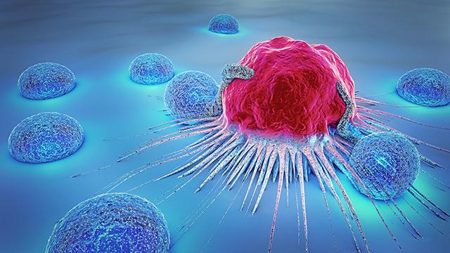 cancer cell illustration