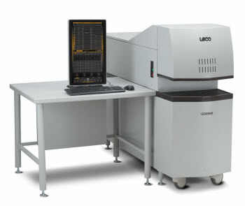 LECO GDS900 Glow Discharge Atomic Emission Spectrometer