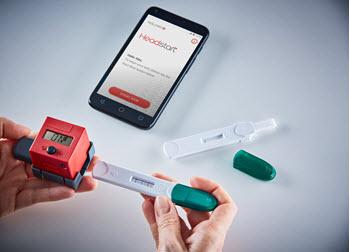 Mologic's urine-based multi-biomarker self-test, Headstart®