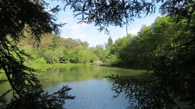 lake in Berkeley, California