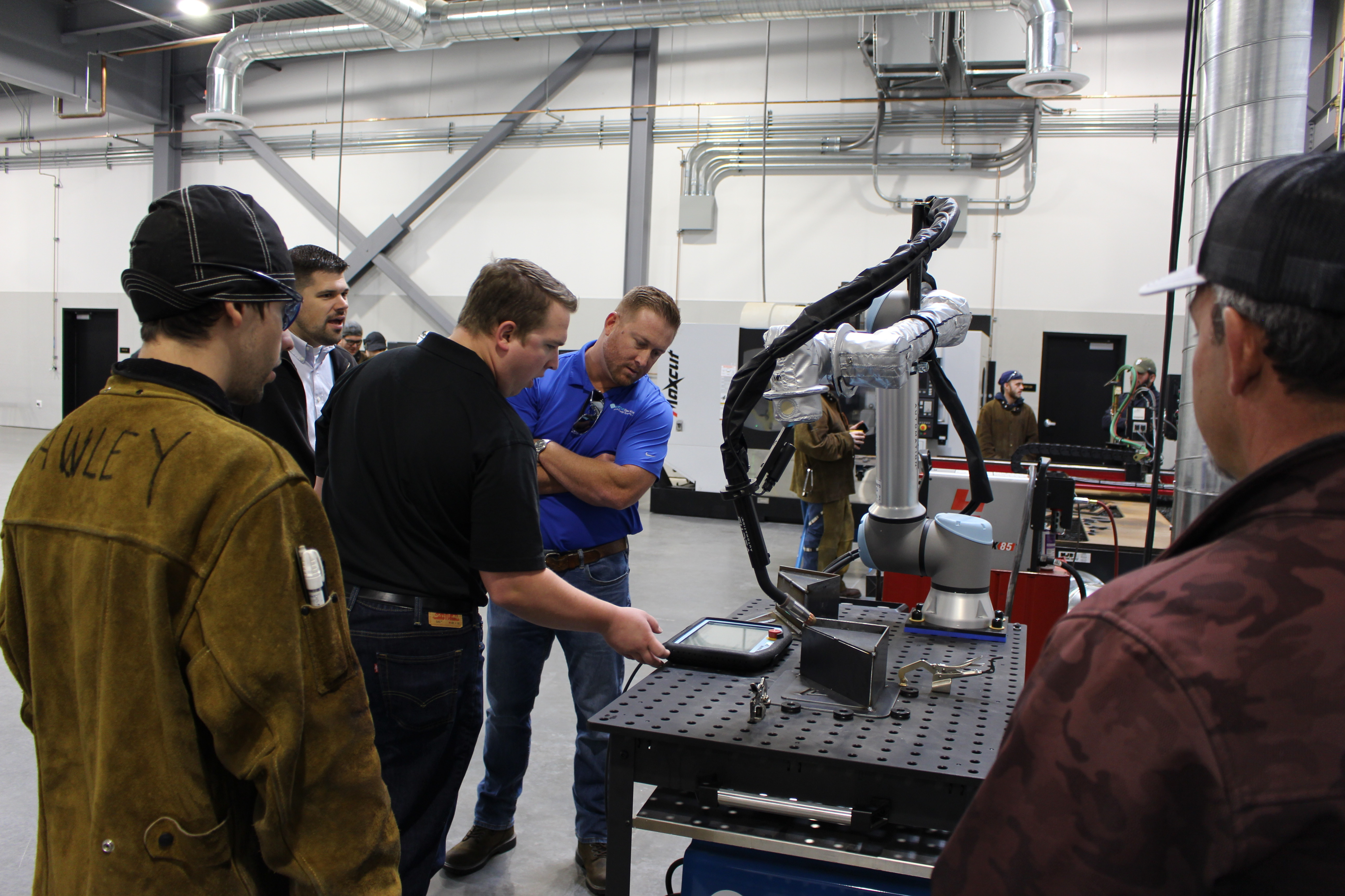 Butte College welding manufacturing