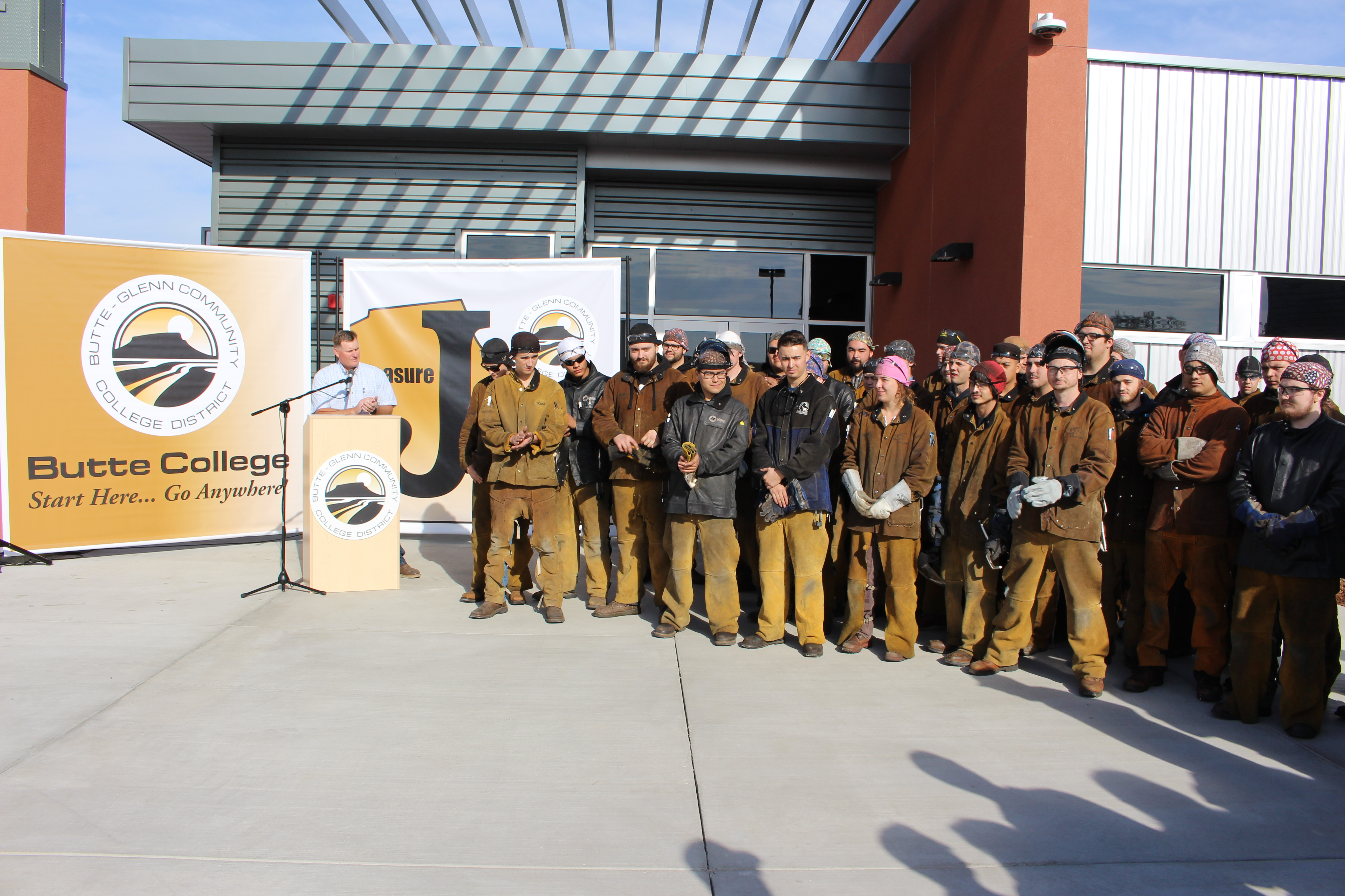 opening of welding manufacturing facility