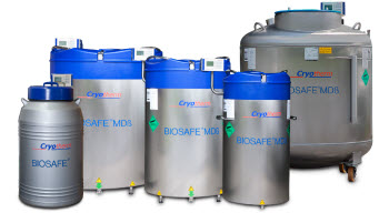 Cryotherm BIOSAFE® Systems for Sample Storage