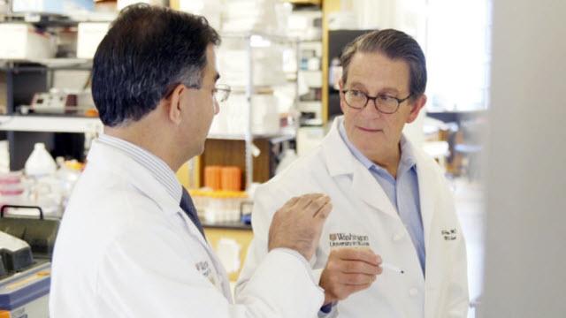 John DiPersio, MD, PhD, and Armin Ghobadi, MD
