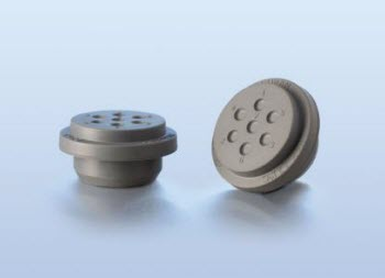 DURAN® branded GL 45 synthetic rubber stopper