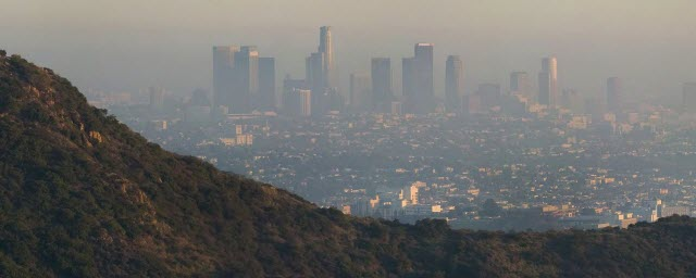 Los Angeles, Griffith Observatory and air pollution