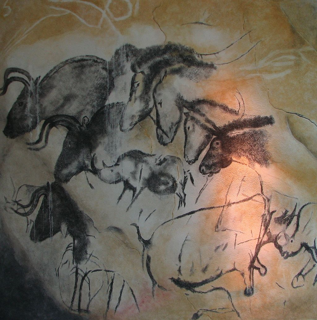 Painting from Chauvet Cave