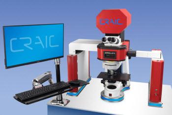 CRAIC Apollo II Raman Microspectrometer integrated with 2030PV UV-vis-NIR Microspectrometer