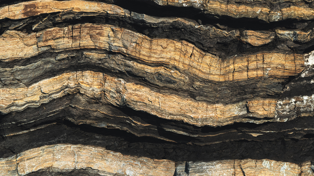 shale layers