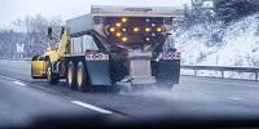 Winter Road Salt and Fertilizers Making North American Waterways Saltier