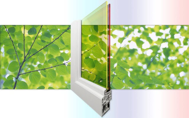 Double-pane Solar Windows to Generate Electricity