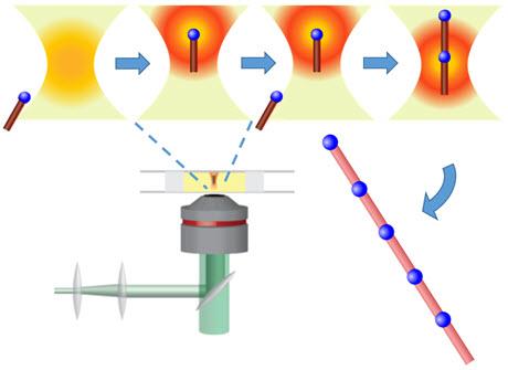 "Focused laser light generates an optical ""tractor beam"""