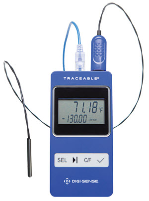 Cole Parmer Traceable® data logging Ethernet thermometers compatible with TraceableLive™ Cloud-Based Service