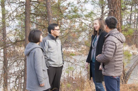 Adam Wei and His Reserach Group