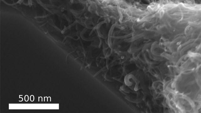 Fine Felted Carbon Nanotubes