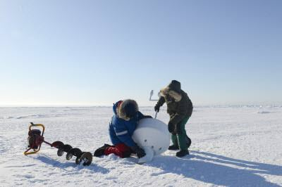 Research Team in Utqiagvik