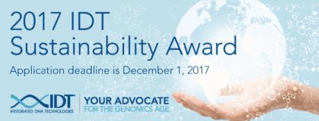 IDT 2017 Sustainability Award