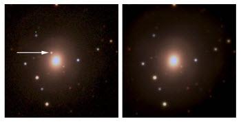 light associated with matter expelled from a neutron star merger