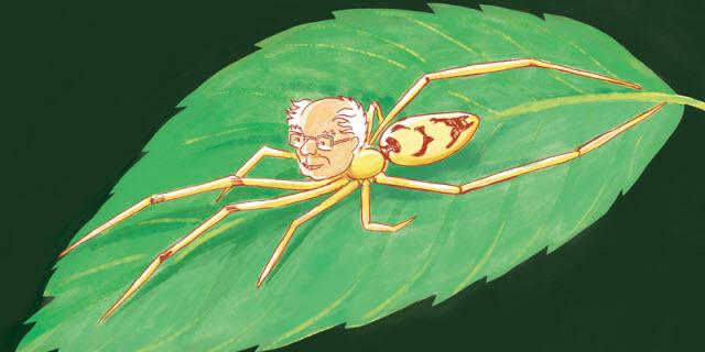 cartoon of Berniesandersi