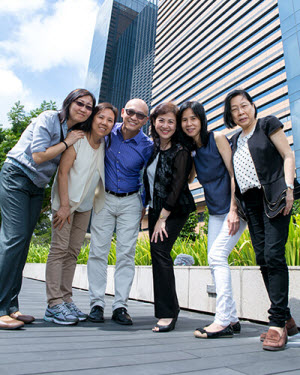 Prof Koh and research team