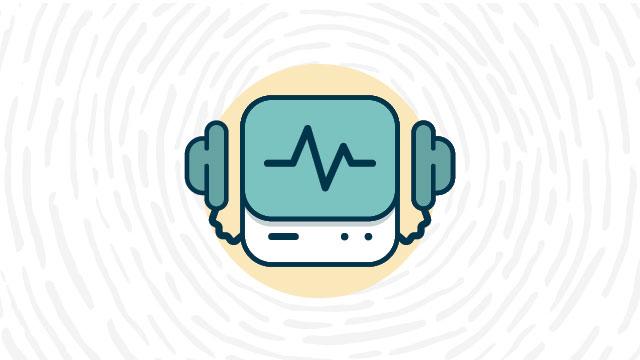 AED defibrillator lab safety symbol