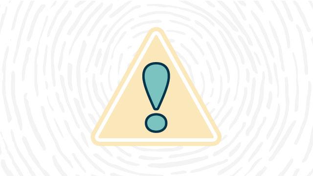 General warning lab safety symbol