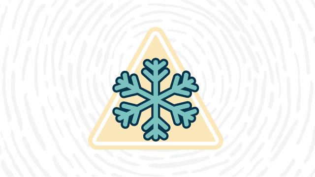 low-temperature hazard lab safety sign