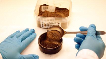 Preparation of soil sample for visible near-infrared spectroscopy measurement