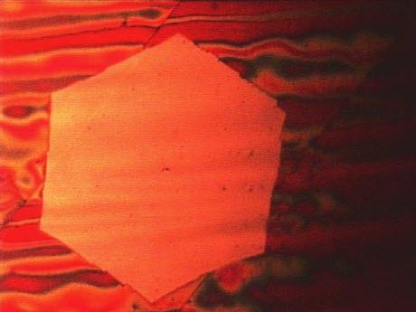 A Wafer-Thin Graphene Flake