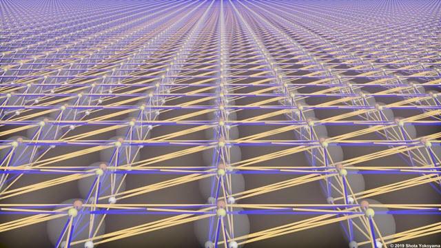 Quantum Processor Made of Light